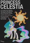Celestia Typography Poster