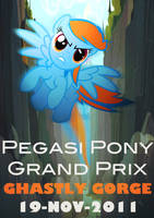 Pegasi Grand Prix Poster: Ghastly Gorge by Skeptic-Mousey