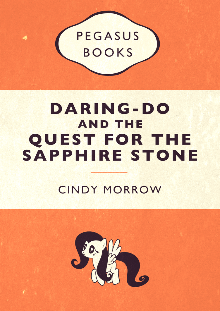 Penguin Book Cover Pictures : Daring do penguin book cover parody by skeptic mousey on