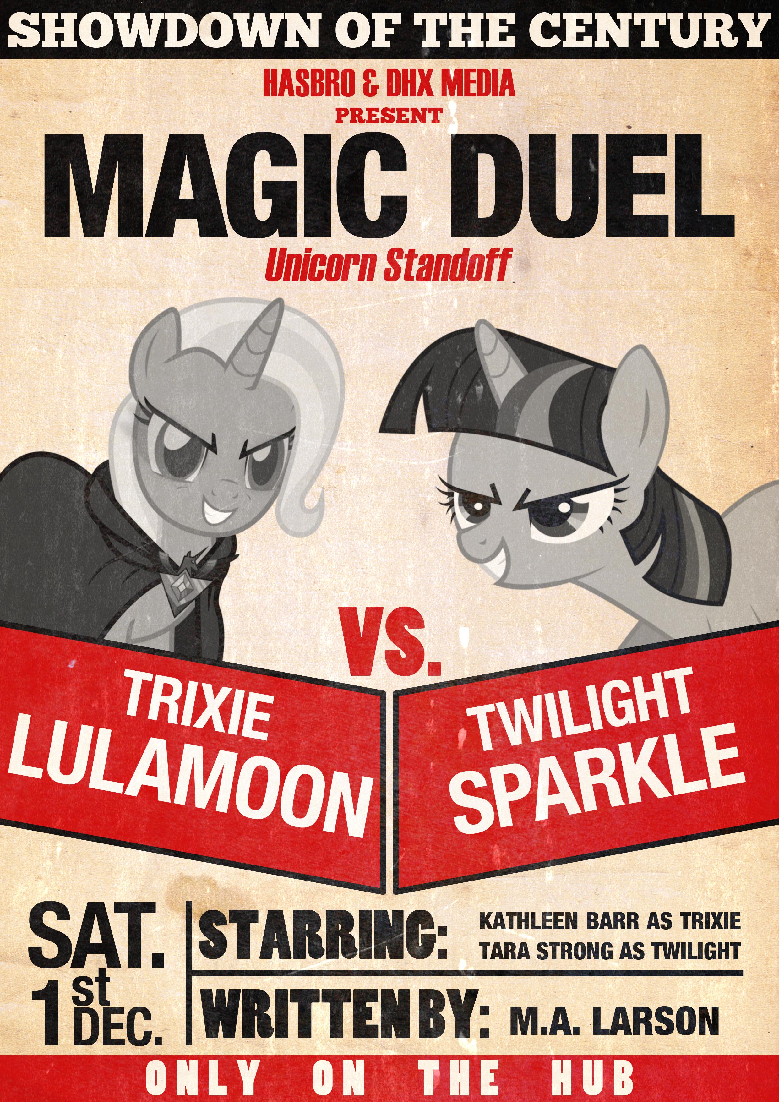 Trixie Vs Twilight Magic