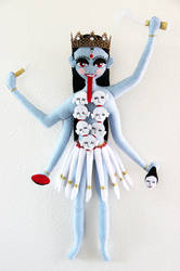 Jai Maa Kali by LilMissStitchyKitsch