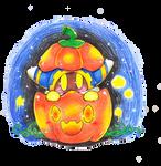 Alien in a Pumpkin