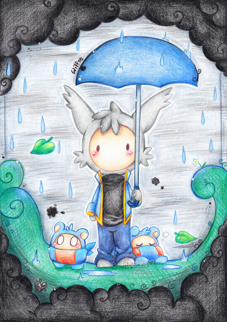 .:Rainy:. by PaperLillie