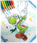 May 2  Yoshi by PaperLillie