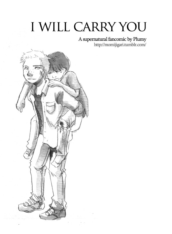 Supernatural fancomic - I will carry you by Resosphere