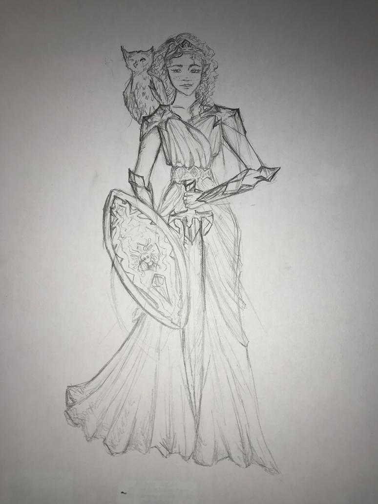 Athena by IceEmbers