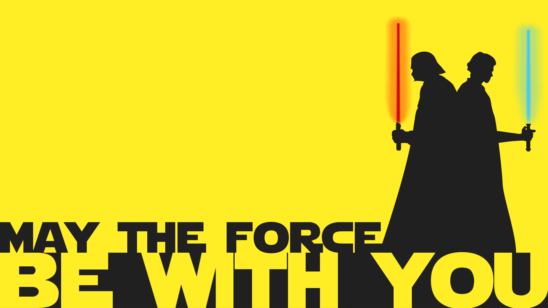 Star Wars May The Force Be With You By Mojavee On Deviantart