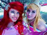 Ariel and Aurora