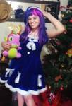 Christmas Twilight Sparkle and Spike by sabrina200415