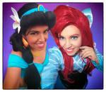 Jasmine and Ariel by sabrina200415