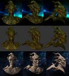 Alien (Mudbox) by Vule76