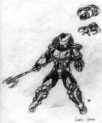 Lazrn Warrior 2 by johnbty
