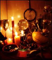 Samhain Altar 2008 by ReanDeanna