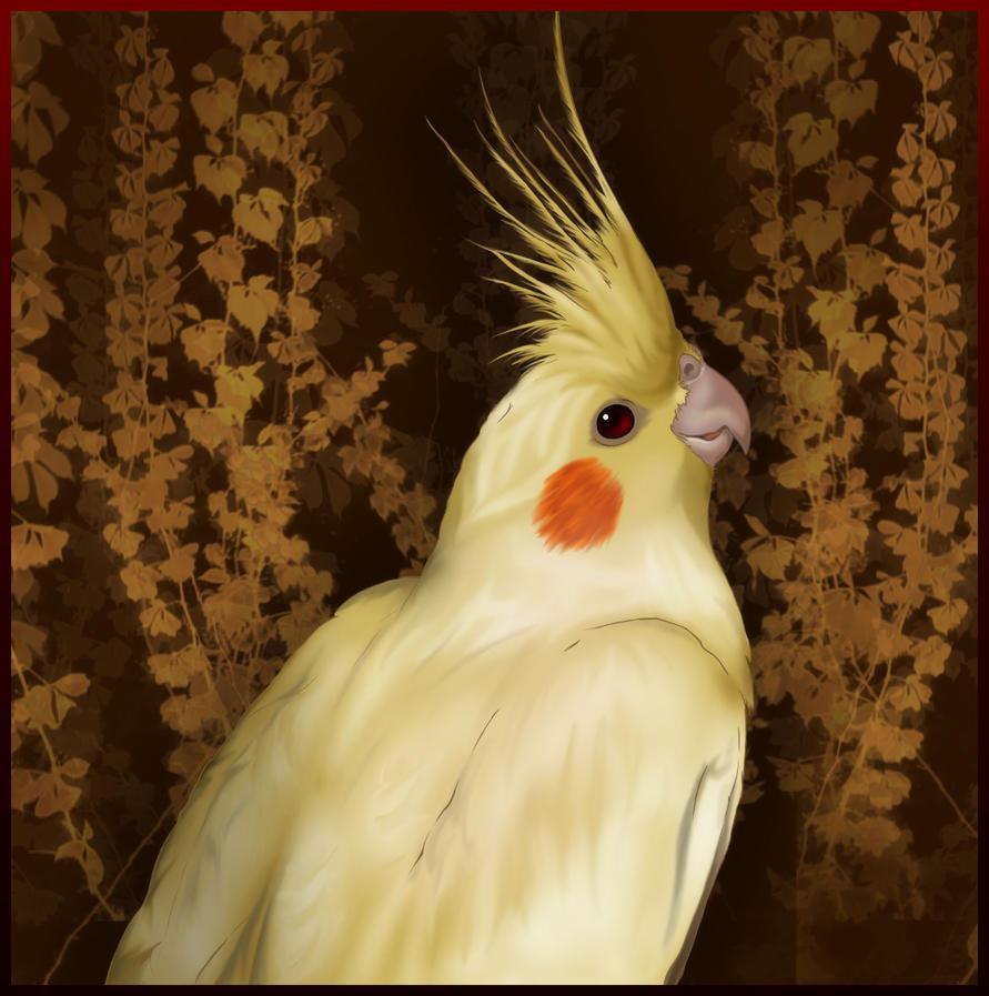Bird Portrait by ReanDeanna