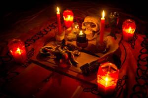 Samhain 2012 Group Altar by ReanDeanna
