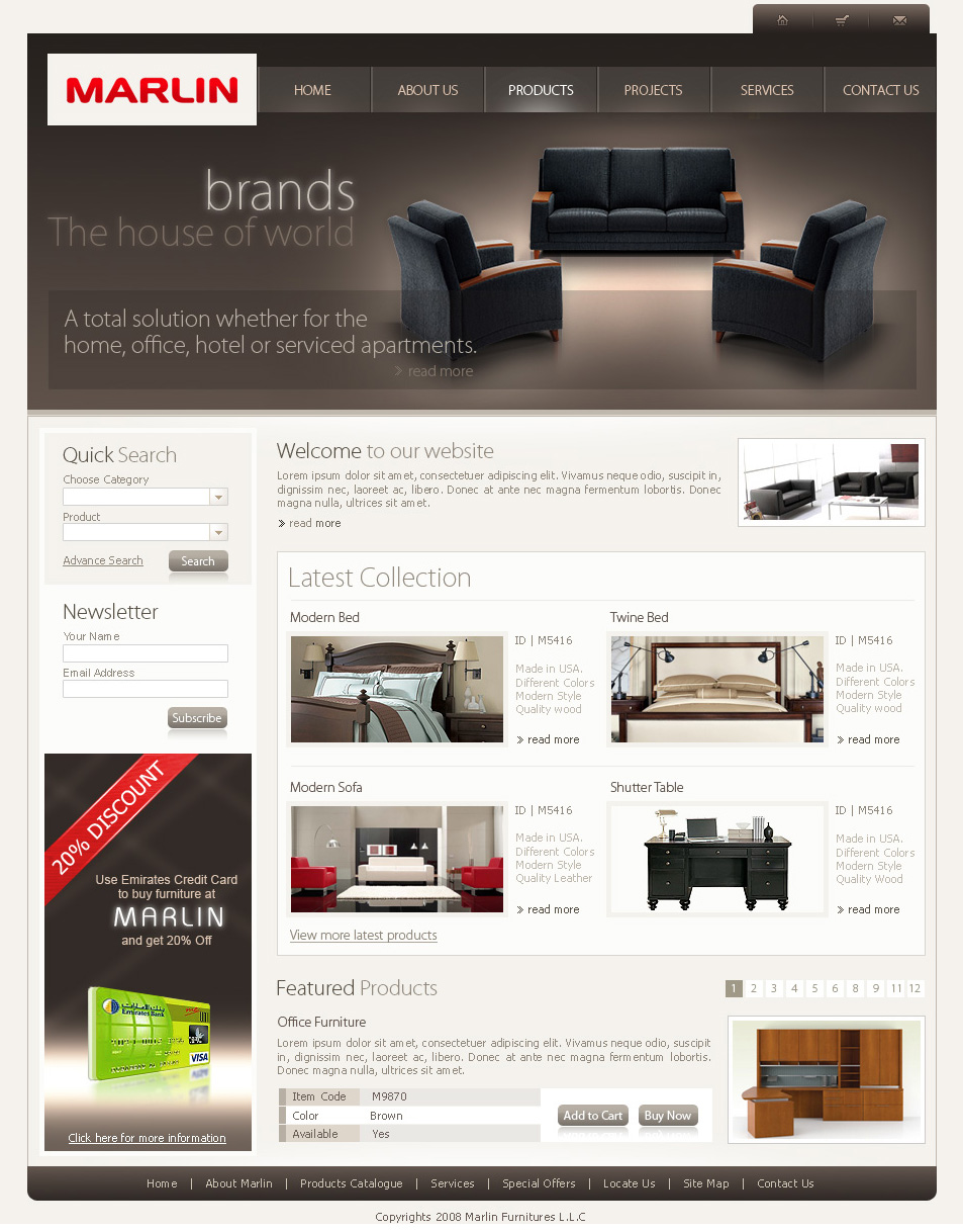 Beautiful Marlin Furniture Updated By Waseemarshad On Deviantart