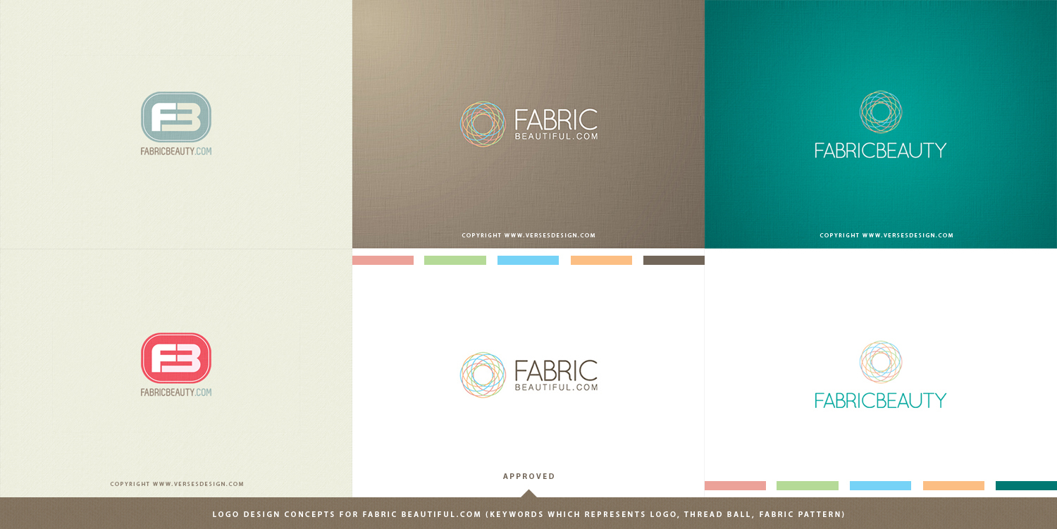 Fabric Beautiful Logo Design by waseemarshad