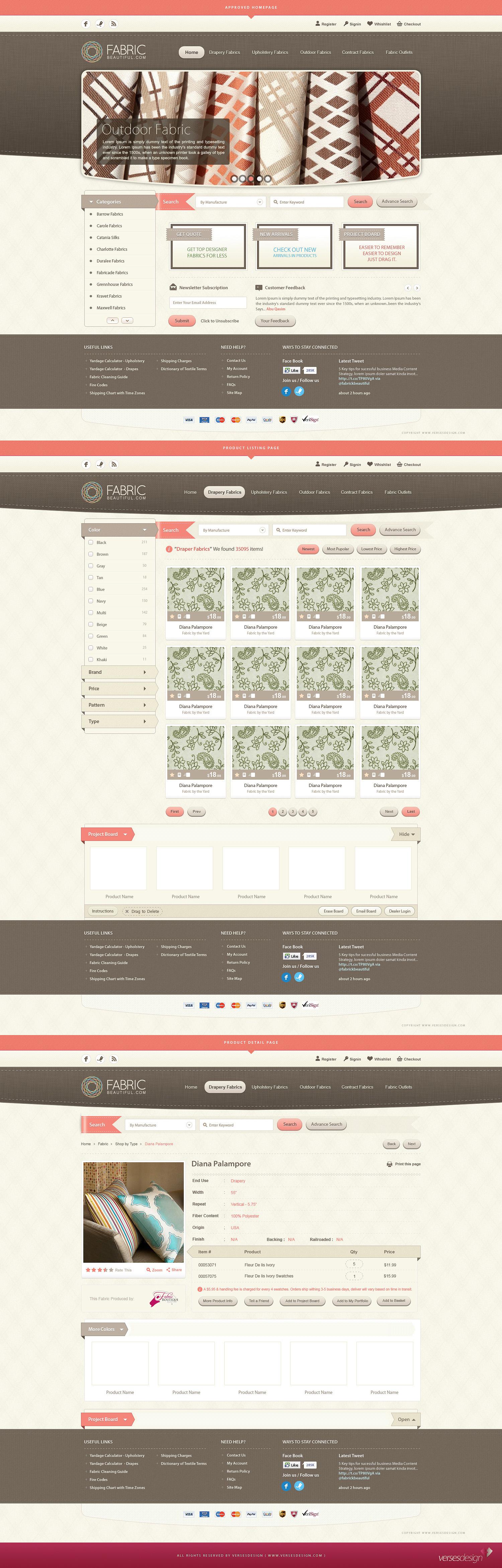 Fabric Beautiful Full Website