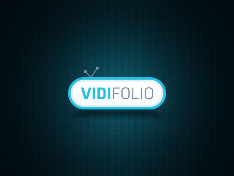 vidifolio Logo Design by waseemarshad