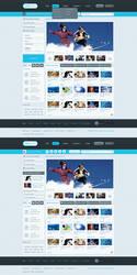 Vidifolio - Homepage by waseemarshad