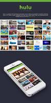 Free PSD - Hulu iPhone App Redesign
