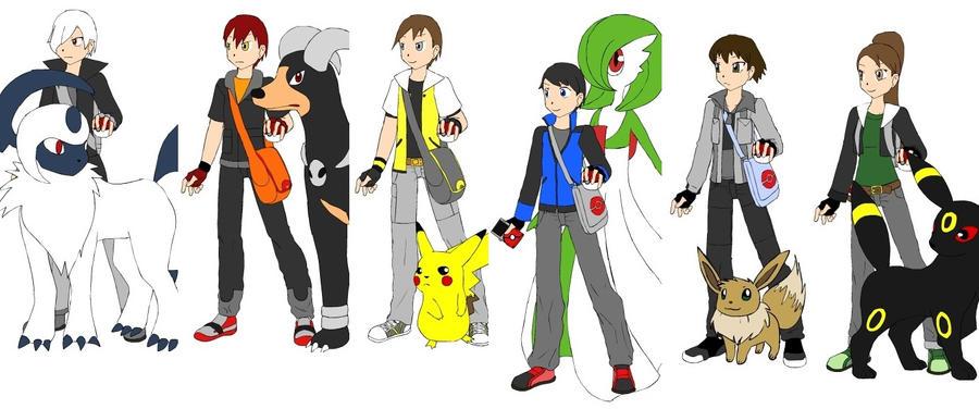 Fun With Pokemon Dress Up! By SilverEyeShinobi On DeviantArt