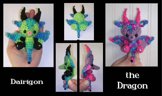 Dragon Crochet Pattern Mini By Peggytoes On Deviantart
