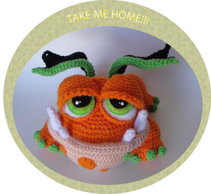 Baby Dragon Hat Crochet Pattern Free : Fat Baby Dragon Crochet Pattern by peggytoes on DeviantArt