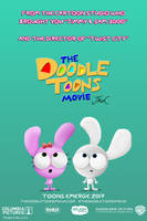 The Doodle Toons Movie (2017) Promotional poster by DJWalker2000