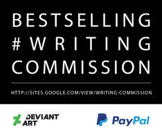 Bestselling Writing Commission Banner by WritingCommissionStu