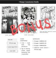 Buy 30 Free 5 (Manga Commission) by WritingCommissionStu