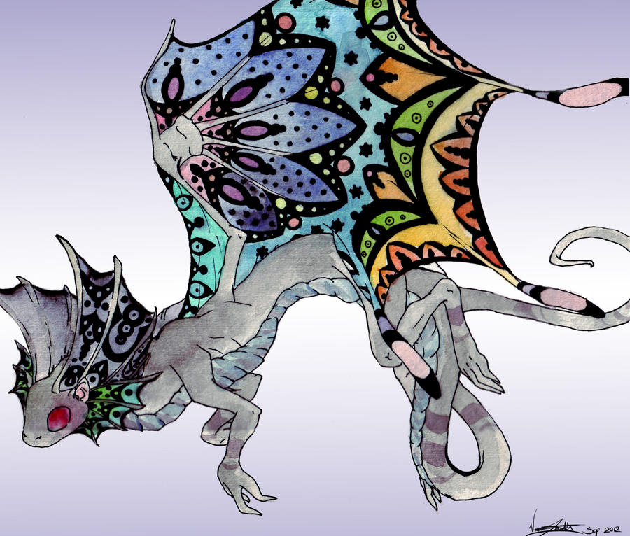 Fae Dragon by Auzie-Angel
