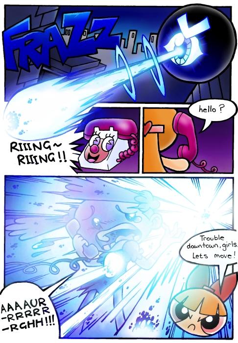 Unfinished Comic 5 by slycherrychunks