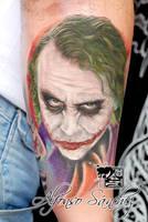 Joker by balinesetattoo