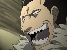 FMA - Yelling Greed by dazwolf