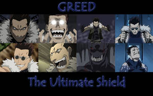 FMA - Greed Wallpaper by dazwolf