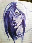 Eryn- Sketch by DeathBiscuitt