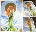 Eryn [watercolor] by DeathBiscuitt
