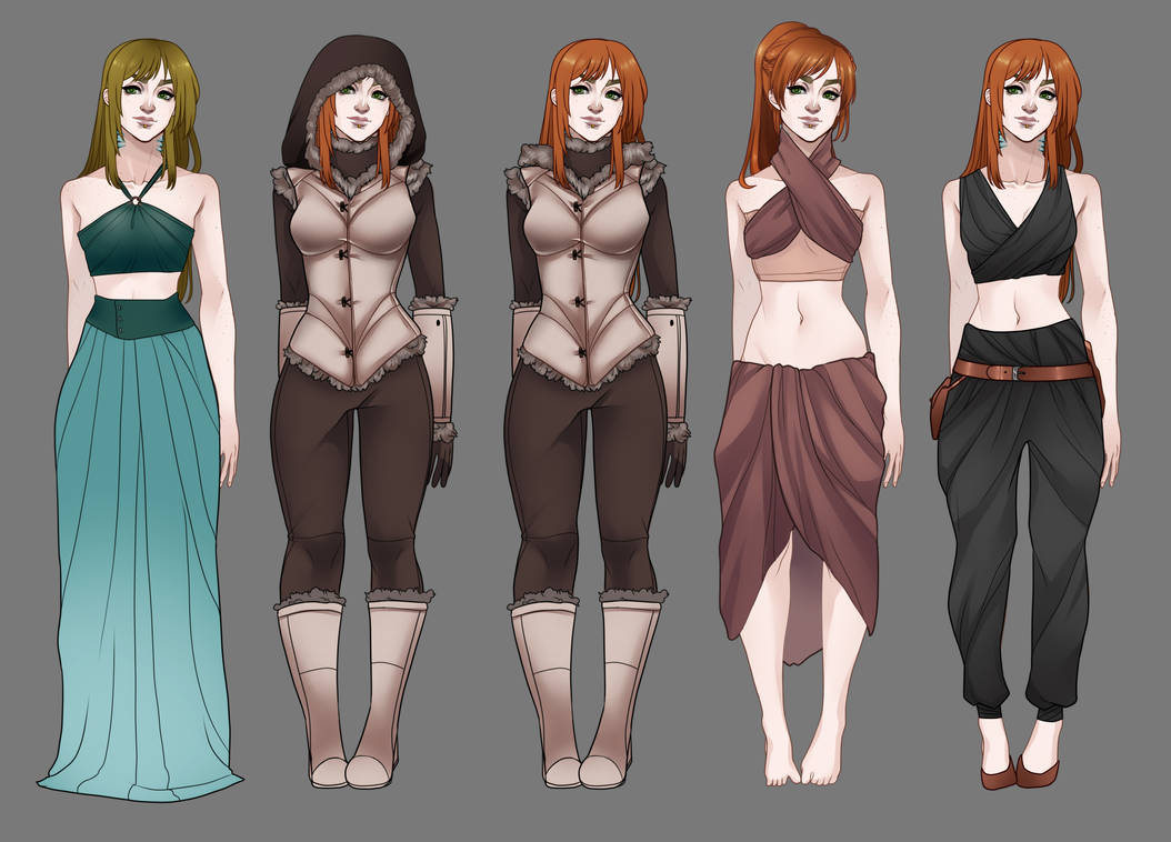 Eryn - outfit redesign