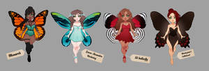Butterfly collection : Adoptable batch [CLOSED]