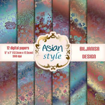 Asian style Pregled by BiljanisaDesign