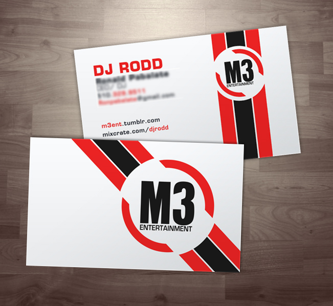 M3 entertainment business card by yellow five on deviantart m3 entertainment business card by yellow five reheart Image collections