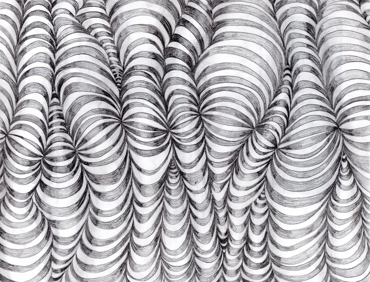 Line Drawing Illusion : Op art with lines by emilythesmelly on deviantart