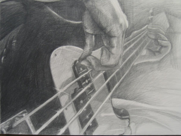 Bass Guitar By Invanex