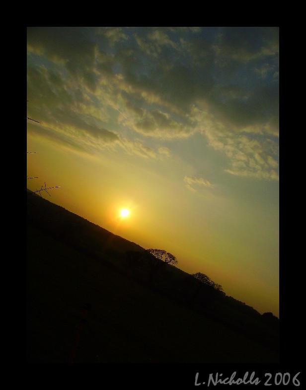 Sunset 'I' by hellfire321