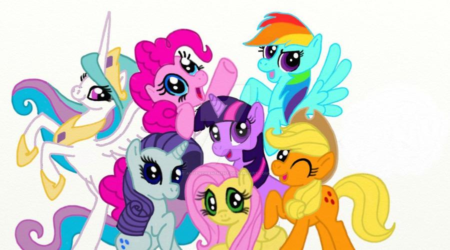 my little pony fan art by amyenchantment on deviantart