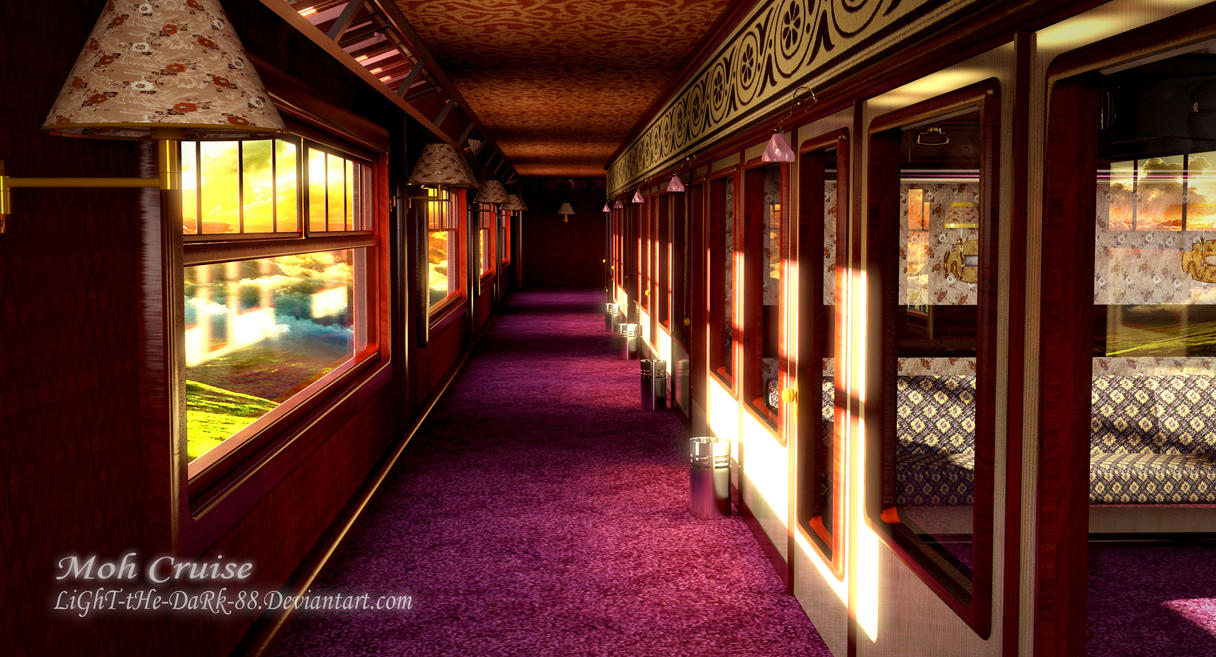 Historic British Train Interiors