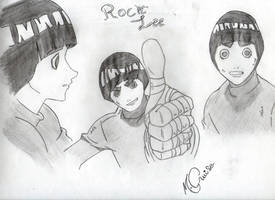 Rock Lee by LiGhT-tHe-DaRk-88
