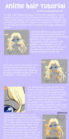 Anime Hair Tutorial by Tetiel
