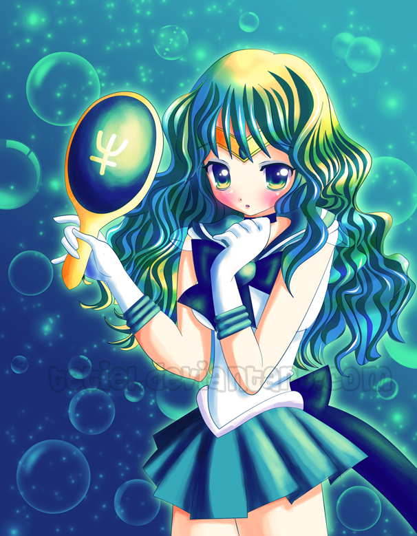 Sailor Neptune: Deep Submerge by Tetiel